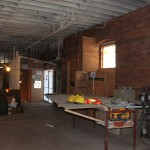 Future Pub will have the 100+ year old original brick exposed to the interior. Beer, bricks, music and awesome food!